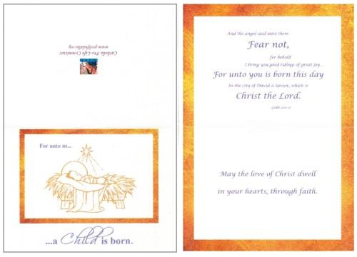 Medium Of Catholic Christmas Cards