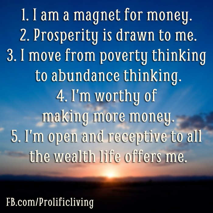 Sad Quotes Written Wallpaper 25 Money Affirmations To Attract Wealth And Abundance