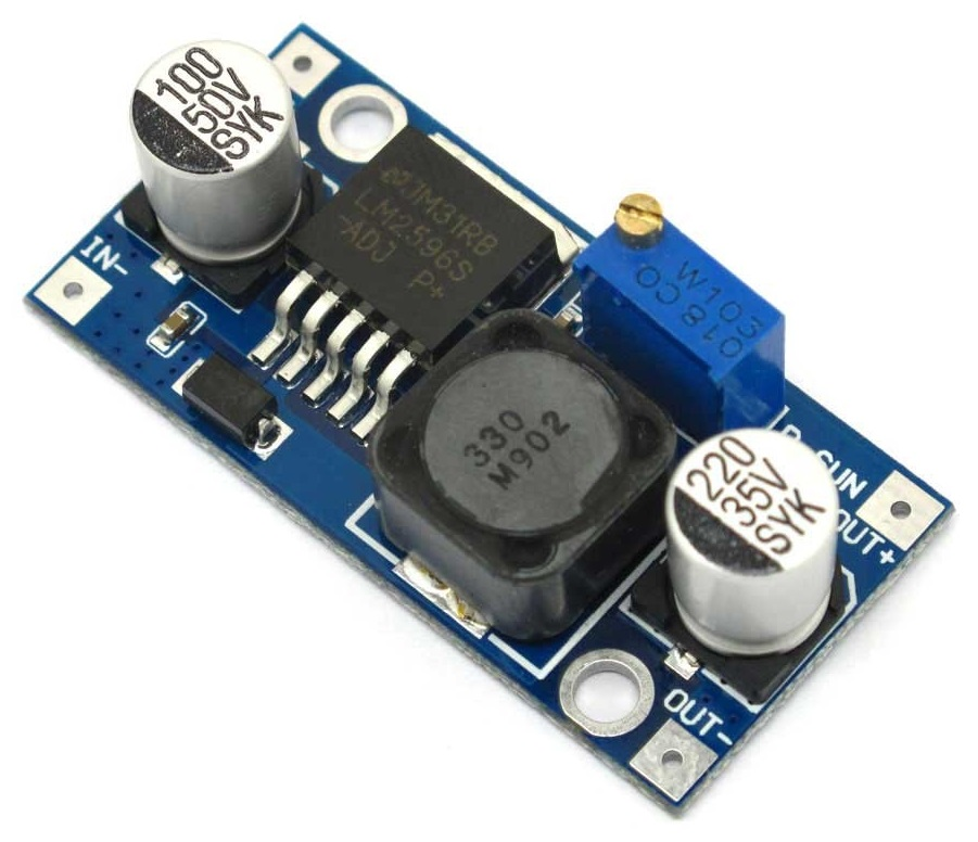 5v to 12v stepup switching regulator