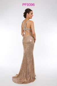 Prom Frocks PF9396 Rose Gold Prom Dress - Prom Frocks UK ...