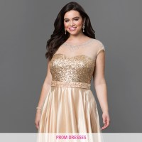 Plus Size Homecoming Dresses, Evening Gowns