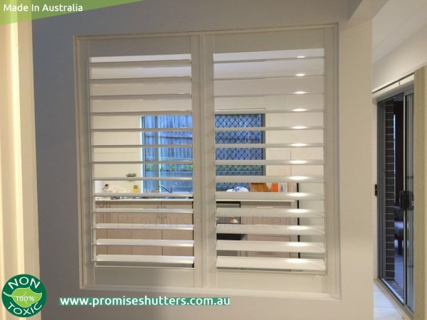 fixed window shutters with beadings