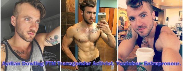 Aydian Dowling is an FTM transgender activist from Patchogue, Long Island. Aydian documented his own transition on YouTube as a way to voice his thoughts, fears, and successes; as well as offer a support mechanism for others looking to transition.   Images from Instagram.com/alionsfear