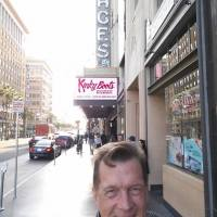 """Nicholas Snow on location with PromoHomo.TV at the Pantages Theatre in Hollywood for the 2016 """"Kinky Boots"""" opening night."""