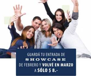 Showcase Rosario a $8