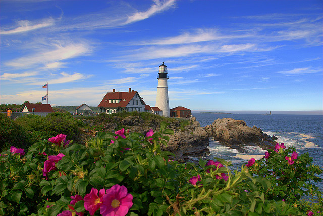 Wallpaper Fall Weather Portland Head Light Practical Information Photos And