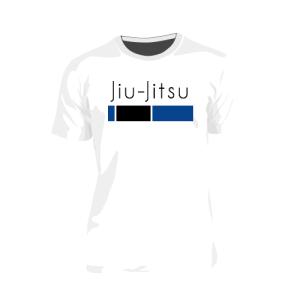 Camiseta Faixa Azul de Jiu-Jitsu