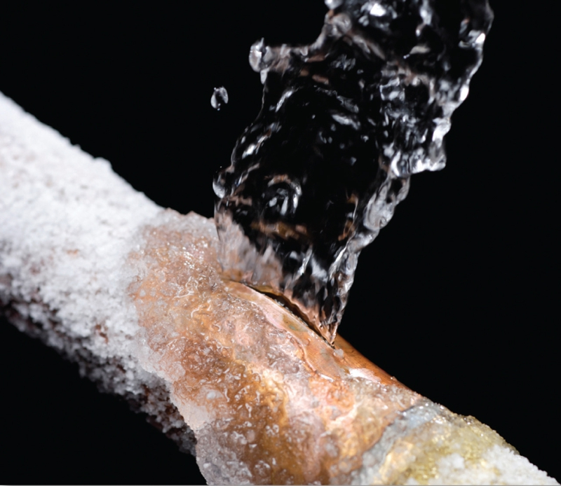Damage From Frozen Pipes is a Homeowners Insurance Covered