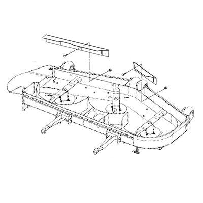 Gravely 79209600 Vacuum Baffle Kit - ProPartsDirect