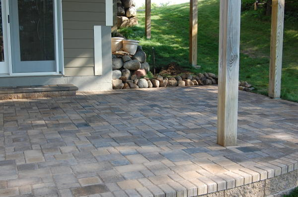 Raised Paver Patios And Walks