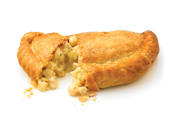 cheese and onion cornish pasty