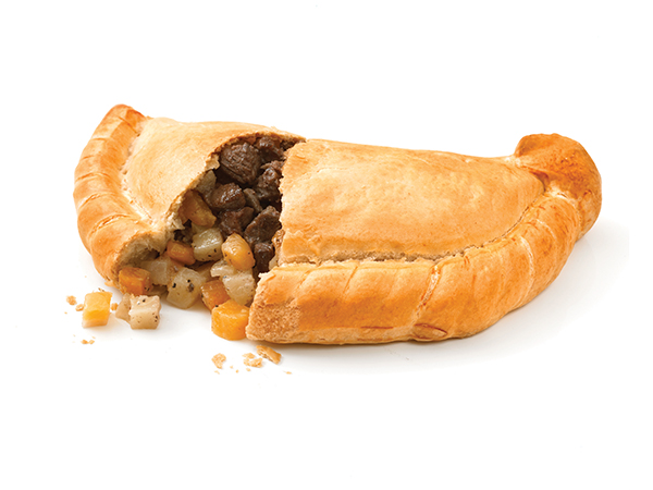 traditional cornish steak pasty