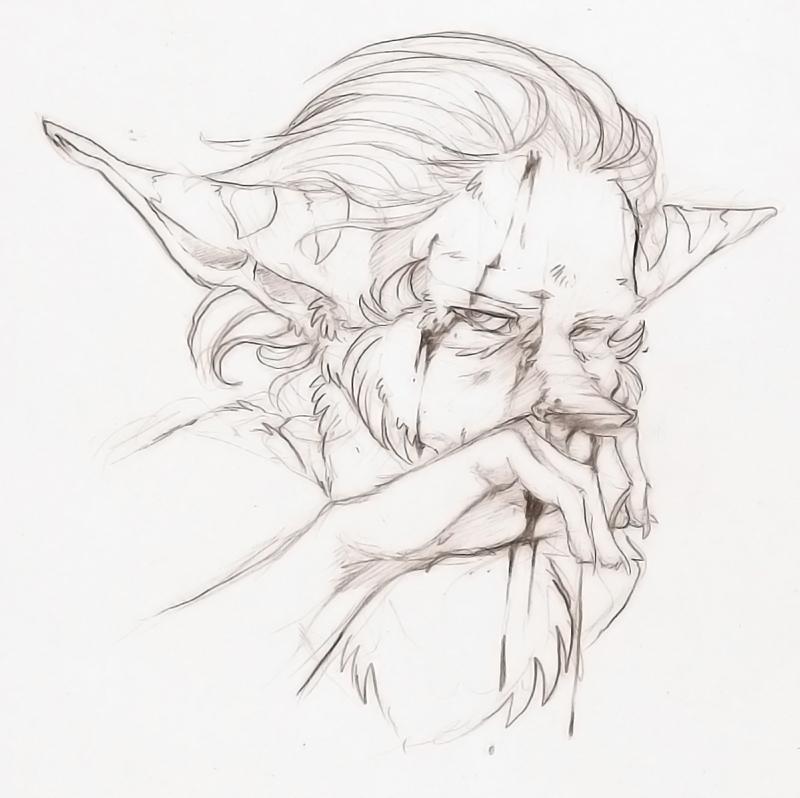 Filler Art: Bloody Nose