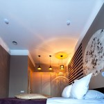 Advantages of LED lights in bedroom enhancement