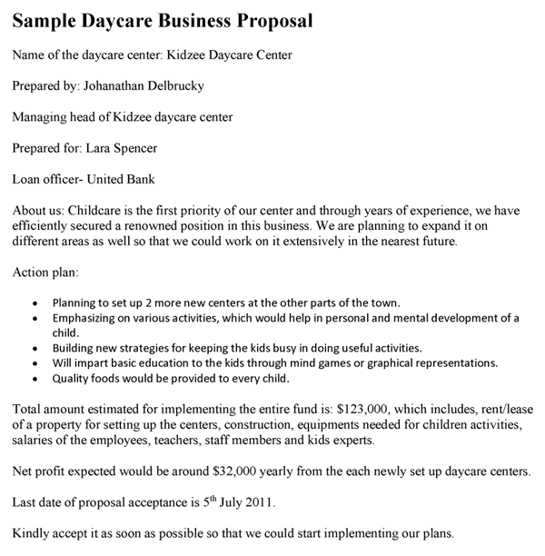 business lease proposal templates