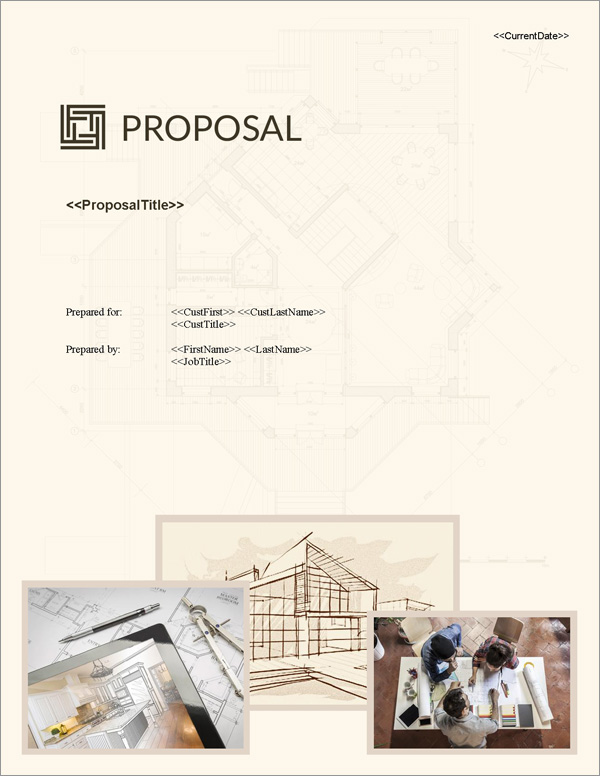 Proposal Pack Architecture #3 - Software, Templates, Samples