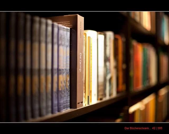 42/365 Der Bücherschrank