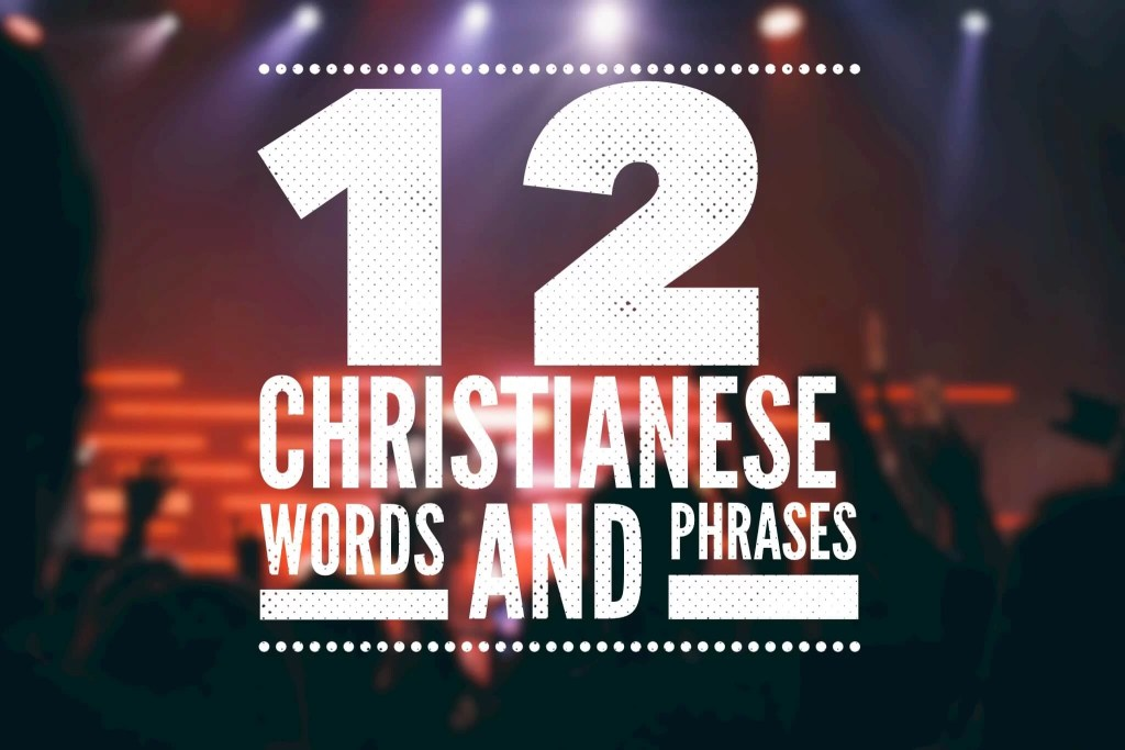 Christians words and phrases