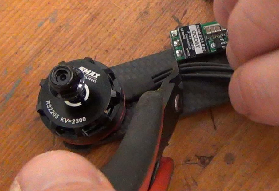 How to Build a Drone Racer Part 3 \u2013 ESC Installation Propwashed