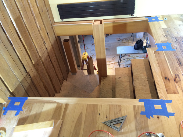 How To Build Boxed Newel Stairs Pro Remodeler