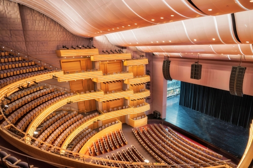 Clearwing Outfits Overture Hall With L-Acoustics - ProSoundWeb