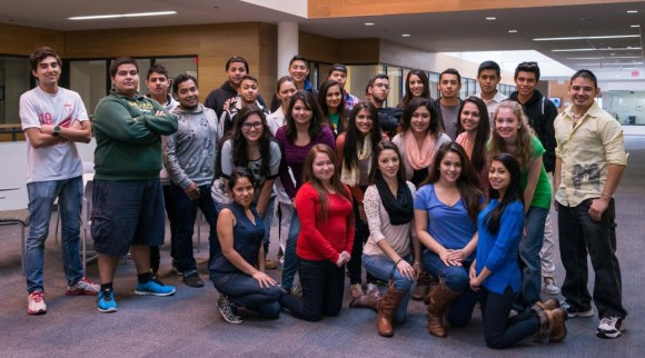 Photo courtesy of Club Latino | Parkland College Pictured is Parkland College's Club Latino, which works to raise awareness about the Latino culture and heritage while also providing support to Latino students attending Parkland College.