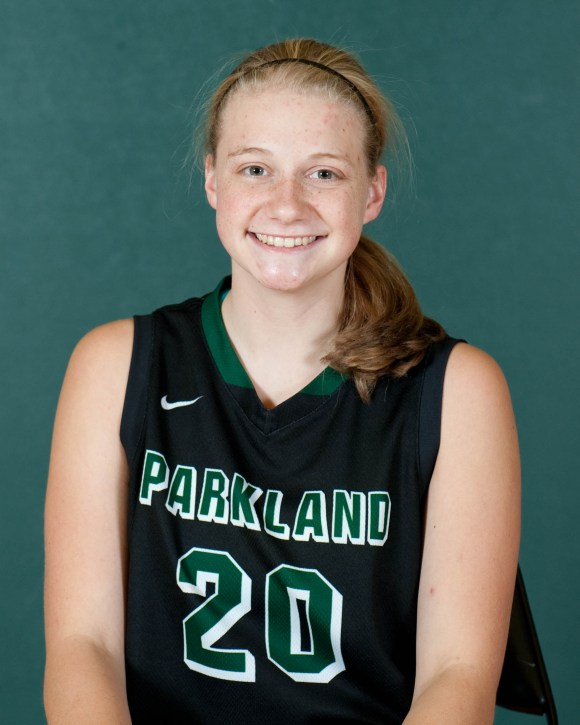 Photo courtesy of Marketing and Public Relations | Parkland College 20	Kassidy Alderman	5-9	FR	G	Greenville HS/Greenville, IL