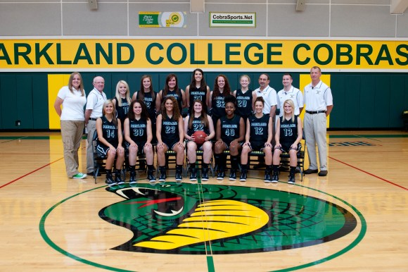 Photo courtesy of Marketing and Public Relations | Parkland College Parkland College Women's Basketball Team