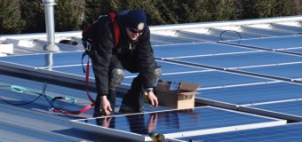 Solar panels to be installed on Parkland building