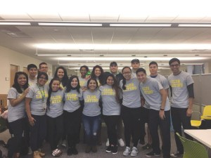 Picture of the Latino Club provided