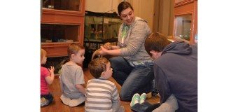 Animal Encounters at local museum continues to entertain children