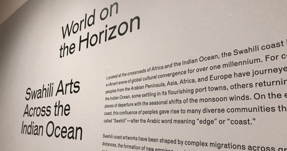 "Photo by David Saveanu | The exhibit ""A History of the Indian Ocean World in Five Objects"" will be at the Krannert Art Museum until March 24, 2018."