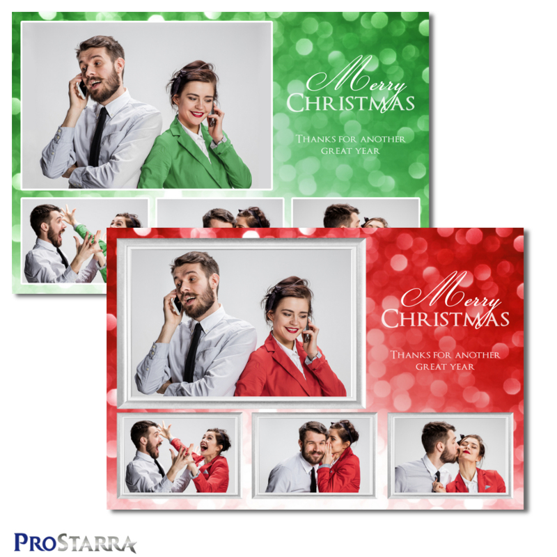 Christmas  Holiday Photo Booth Templates, Layouts, Designs