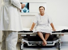 A man with prostate problems