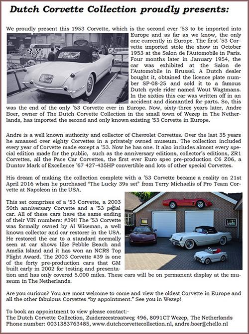 Used Corvettes Classic Corvette Testimonials