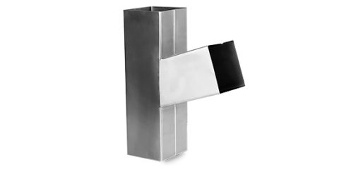 Downspout rectangular