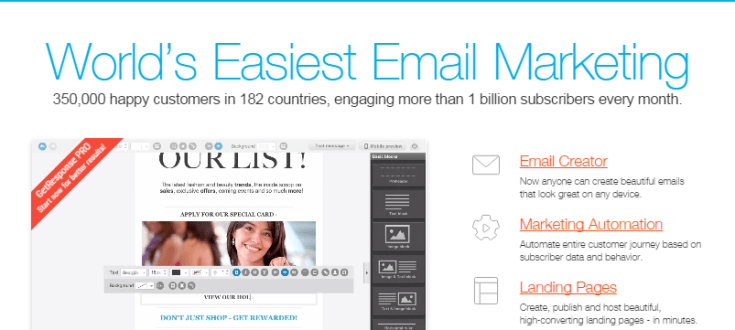 GetResponse – Best Email Marketing Tool for Businesses