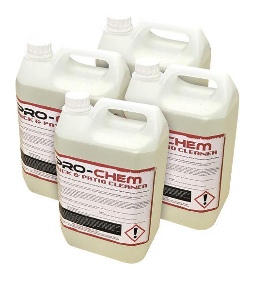 Hydrochloric Acid Industrial Brick Patio Cleaner 20l 4x5l