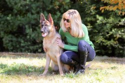 Small Of Women With Dogs