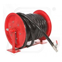 Fire hose reel with 25 mm X 30 M pipe & nozzle in ...