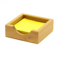 Wooden Post It Note Holder by Woodquail | Eco Gifts
