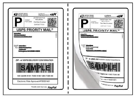 Generic Round Corner Shipping Labels 75 X 5125-CR \u2013 ProTEKgr
