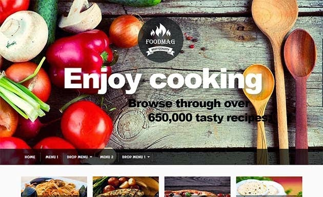 Food-Mag-Blogger-Template