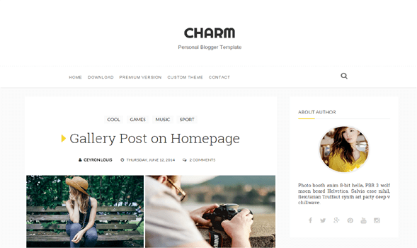 Charm-Responsive-Blogger-Template