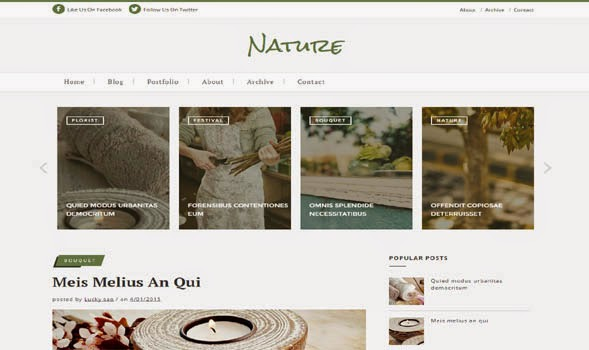 Nature-Classic-Blogger-Template