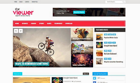 Viewer-Responsive-Blogger-Template