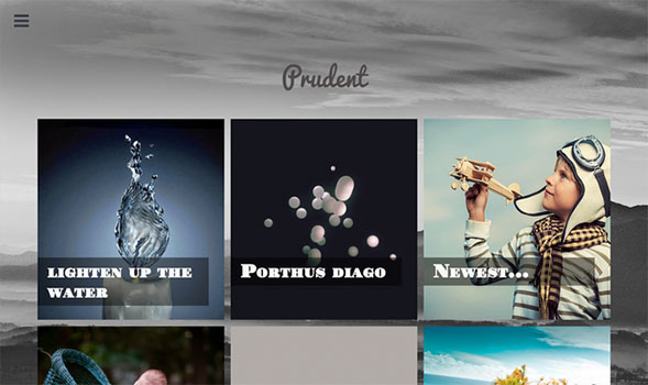 Prudent-Blogger-Template