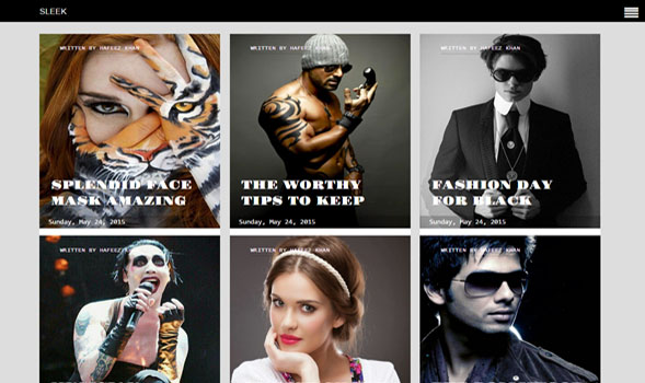Sleek-Responsive-Blogger-Template