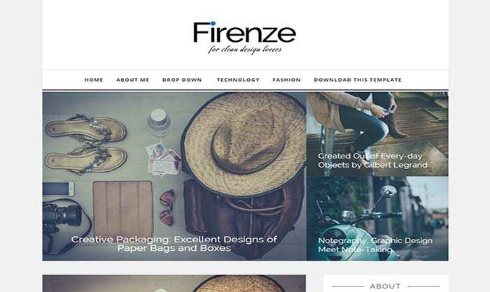 Firenze-Blogger-Template
