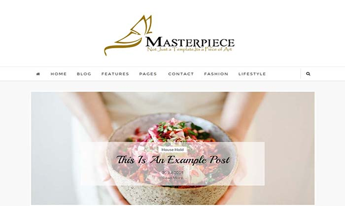 Masterpiece Blogger Template